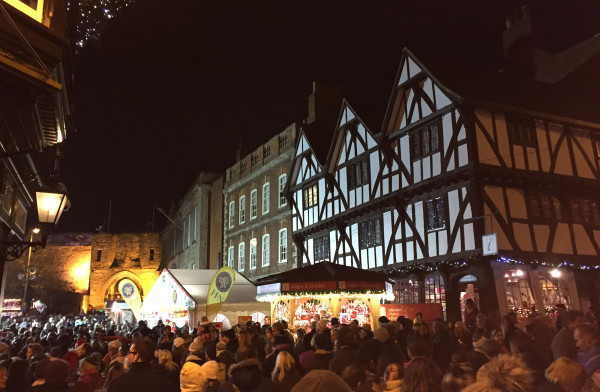 Bailgate and Castle Hill Square - Lincoln Christmas Market
