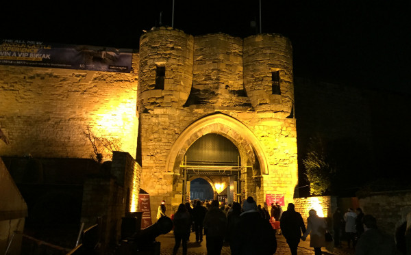 Lincoln Castle - Lincoln Christmas Market