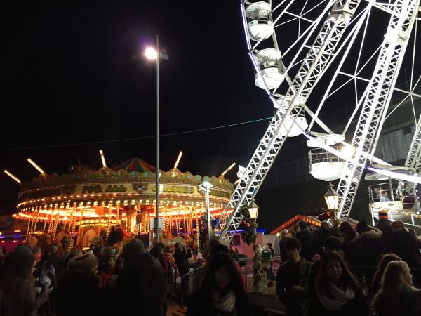 Ferris Wheel Fairground - Lincoln Christmas Market