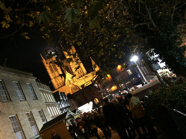 Lincoln Cathedral - Lincoln Christmas Market